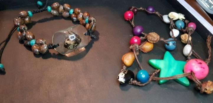Pack pulseras artesanales