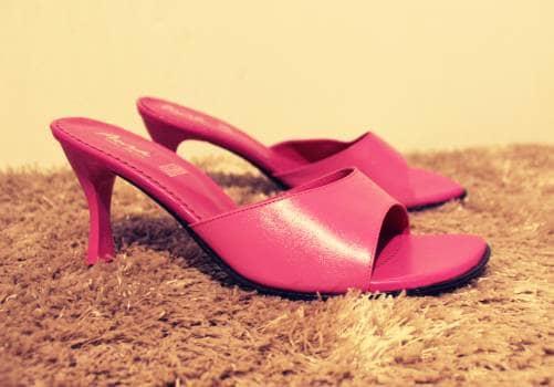 Zapatillas estilo barbie