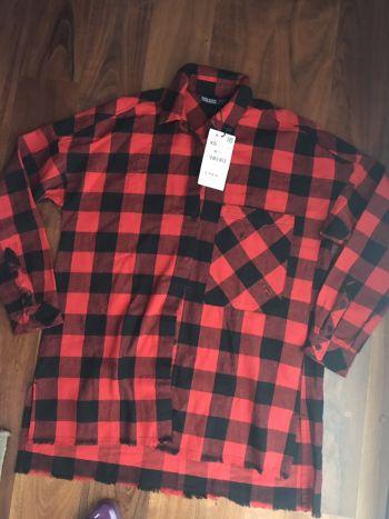 Camisa cuadros Zara nueva!