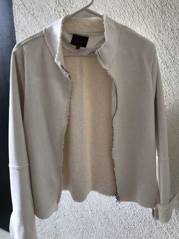 Abrigo de lana polar