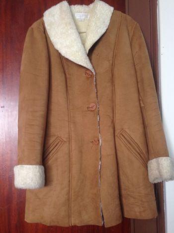 Chamarra /abrigo borrego.
