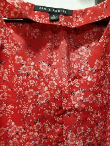a78df87cf0 Blusa roja estampada xl - GoTrendier - 606898