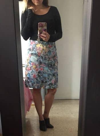 Falda Flores preciosa H&M