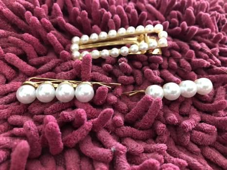 Pack de pasadores de perlas